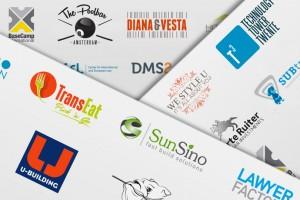Uitgelichte logo's gemaakt door Schutreclame