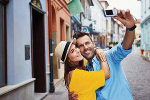 Visual facebook actie TravelXL voor valentijnsactie