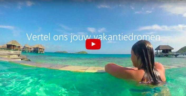 Zonvakantie videoschot TravelXL